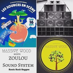 "Ce samedi profitez d'une journée #roots à Lit-et-Mixe !  Marché de Producteurs Conférences Concerts... Au programme de la toute première édition du Festival ""Les Sources en Scène""  #REPOST : @massivewoodsound  This Saturday Massive Wood meets ZOULOU Sound System (full stack) @Festival Sources en Scènes Lit et Mixe. #reggae #dubwise #culture #unity #conscious #music #with #a #real #message"