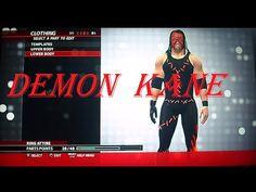 How to make Demon Kane-- WWE 2K16 (OLD GEN) pt-br - YouTube Kane Wwe, Do Video, Upper Body, Youtube, Youtubers, Youtube Movies