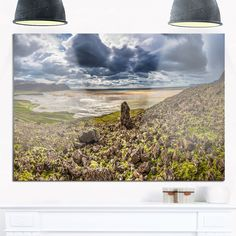 Rocky Coastline Iceland Panorama - Landscape Glossy