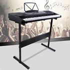 61 Key Black Music Electronic Keyboard Electric Digital Piano Organ with Stand - Piano - 61 Key Black Music Electronic Keyboard Electric Digital Piano Organ with Stand Price : Mini Keyboard Piano, 88 Key Keyboard, Digital Piano Keyboard, Music Keyboard, Electric Music, Piano For Sale, Upright Piano, Pedalboard, Piano Music