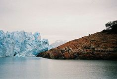 Perito Moreno, Argentina (by: Barbara Matthews) Oh The Places You'll Go, Places To Travel, George Santayana, City People, South America, Scenery, To Go, Around The Worlds, Explore