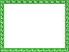green border png