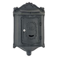 Amco Colonial Wall Mounted Mailbox - WM-209-BLK