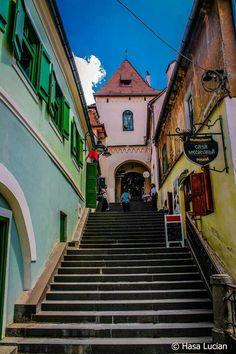 Turnul scarilor, Sibiu, Transilvania, Romania