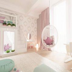 Super cute Girl's bedroom decor idea Baby Room Decor, Room Decor Bedroom, Bedroom Shelves, Room Baby, Girl Bedroom Designs, Girls Bedroom, Bedrooms, Pretty Bedroom, Toddler Rooms
