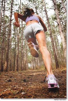 Go run in the forest