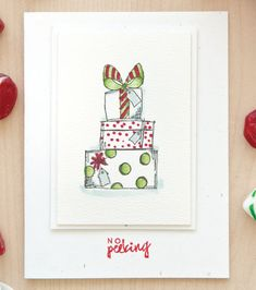 Shari Frost-Job is dreaming of a White Card Christmas with her minimalistic designs inside The Stampers' Sampler.