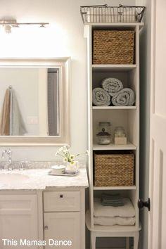 Si tienes un baño pequeño, necesitarás todas estas ideas para aprovechar todos sus rincones. ¡Estará siempre ordenado!