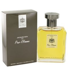 Jacques Fath Cologne By Jacques Fath EDT Spray 4.2 Oz (125 Ml) For Men