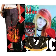 """""""Flame On!"""" by the-scarred-adventurer on Polyvore"""