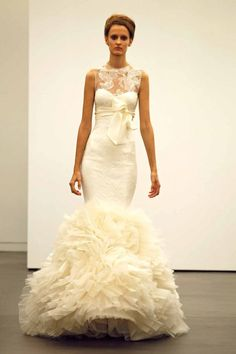 VERA WANG FALL 2013 BRIDAL COLLECTION  #wedding_dress