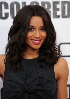 Ciara Red Lipstick - Ciara opted for a classic look while attending the 'For Colored Girls' premiere. the singer showed off a soft red lip in a matte texture.