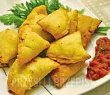 Indyjskie pierożki Ravioli, Sweet Potato, Chili, Indie, Pierogi, Potatoes, Yummy Food, Vegetables, Stuffing
