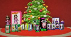 The Sims 4 | Packages, set 2: Doll Toy boxes by budgie2budgie | buy mode deco clutter community lot new objects