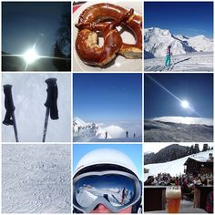 #skiing in the Alps. Best feeling ever!