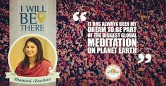 Being a part of the biggest global meditation on the planet inspires Bhamini Chouhan to join #WorldCultureFestival! #artofliving #artofliving35 #WCF #WCF2016 #wcfcountdown #india #IWillBeThere #srisri #delhi. by wcf2016