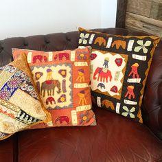 Awesome new cushions 🌞🐘 @treeoflife_love #cushions #boho #bohome #bohemian #Rajasthan #India #interiors #interiordesign #elephants #applique #handmade #treeloves