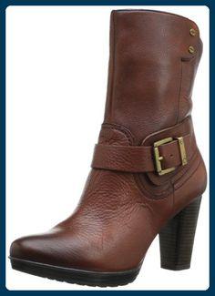 Clarks , Damen Bootsschuhe, braun - braun - Größe: 43 - Stiefel für frauen (*Partner-Link)
