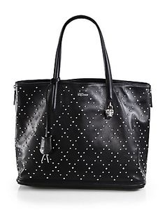 Alexander McQueen Studded Leather Tote