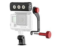 Manfrotto - Kit LED Off Road para GoPro ThrillLED - LED para cámara GoPro - Disefoto