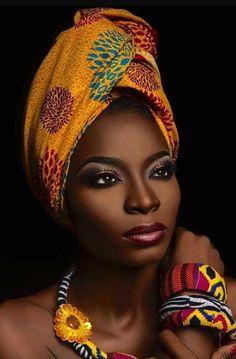 African Beauty, African Women, African Fashion, Black Women Art, Black Girls, Black Is Beautiful, Afrika Tattoos, African Head Wraps, Beauty And Fashion