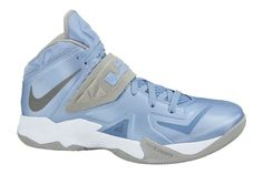 more photos cfcdf ba8fa Nike Zoom Soldier VII 599263 402 University Blue Metallic Silver