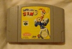 #Nintendo 64 #earthworm jim 3d game cartridge only #tested,  View more on the LINK: http://www.zeppy.io/product/gb/2/371829890369/