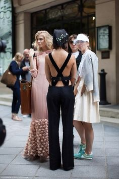 fashion week is forever // #streetstyle