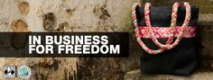 Freeset. Women are employed by freeset as a means of income, thereby saving them from the sex trade in India.