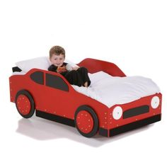 $359.99-$429.99 Baby Stock Car Racer Toddler Bed Color - Yellow - After that final pit stop at the bathroom, it's time to race straight to the Stock Car Racer Bed. Hand-crafted with imported, laminated Baltic Birch, this bed has been carefully constructed to make it easy to get into but hard to fall out of. This race car bed, available in blue, red, or yellow, can accommodate any standard-sized  ...