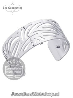 Les Georgettes Armband Aloe Zilver 25mm