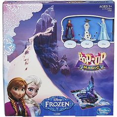 Disney PopUp Magic Frozen Game Move Along The Path With Spins Of The Spinner *** Click image to review more details.