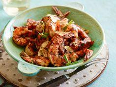 Grilled Shrimp with Garlic (Gambas al Ajillo) Recipe : Bobby Flay : Food Network - FoodNetwork.com