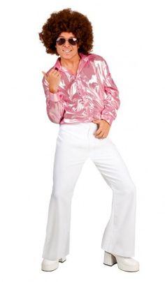 Pantalon Disco Blanc