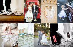 コンバースウェディング♡ やっぱりスニーカーはコンバース!!シンプルデザインなので一番しっくりくるかもしれないですね。 Wedding Shoes, Summer Wedding, Hawaii, Marriage, Photoshoot, Happy, Outfits, Image, Dresses