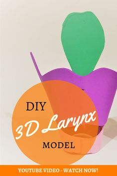 Watch this video to learn how to make a larynx model at home. Get a free template. School Study Tips, Singing Tips, Free Facebook, Anatomy And Physiology, Free Paper, Improve Yourself, Have Fun, Templates, Learning