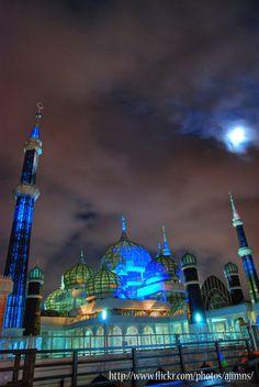 Crystal Mosque (Masjid Kristal) Kuala Terengganu, Malaysia by ajimns