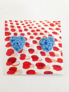 Red & blue in September by Elena Schnaider on Etsy