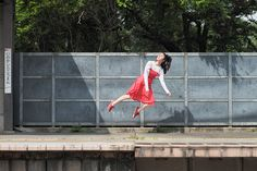 Across the Atlantic from where Halsman made his jump photograph, the Levitating Girl shows that the next stage isn't just jumping, but floating in mid-air. Natsumi Hayashi, the girl who leapt through Tokyo, shows the rest of the world how jump shots are supposed to be done.