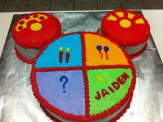 Mickey Mouse Toodles cake