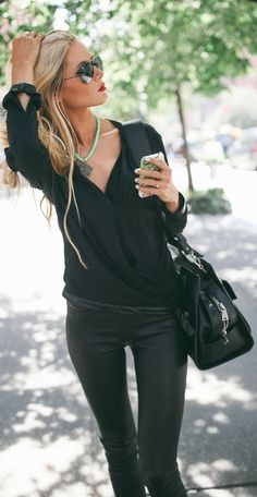 all black. cute.