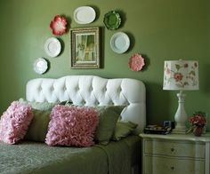 Green Purple Bedroom Design, Pictures, Remodel, Decor and Ideas