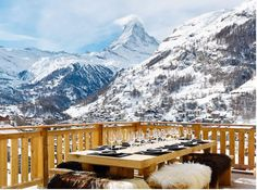 apres ski - want to be there and breath that air!! Can almost smell it ... Imagine ... What a view!!!!!