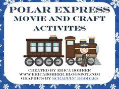 Polar Express Movie and Craft Activities