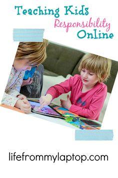 Teaching Kids Responsibility Online