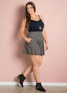 Cute Outfits For Plus Size Women. Graceful Plus Size Fashion Outfit Dresses for Everyday Ideas And Inspiration. Plus Size Refashion. Chubby Fashion, Fat Fashion, Curvy Girl Fashion, Plus Size Fashion, Fashion Outfits, Fashion Ideas, Plus Size Looks, Curvy Plus Size, Plus Size Women