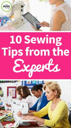 Ellen March presents ten expert sewing tips that you may not already know. See what techniques she demonstrates that you will find useful. Learn new sewing tips and see what other sewing experts are doing to create professional pieces. Check out more of our videos on sewing tips for more ideas!