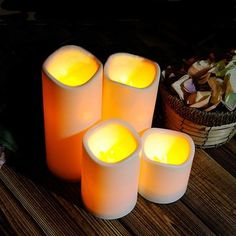 Cylindrical Flickering Led Candle Light Flameless Garden Yard Christmas Lamp Decoration^75x75CM * Check this awesome product by going to the link at the image.