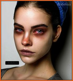 The bloodshot eyes is a really nice touch. Barbara Palvin, Beauty Makeup Photography, Eye Photography, Girl Face, Woman Face, Tattoo Outline Drawing, Fridah Kahlo, Portrait Fotografie Inspiration, Model Face