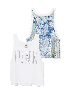 We LOVE this tank from PINK #VTlovesVSPINK #PINK
